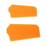 4mm QUICK 3D PADDLES (ORANGE)