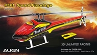 450L Speed Fuselage – Red & Yellow