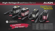 DS820 High Voltage Brushless Servo