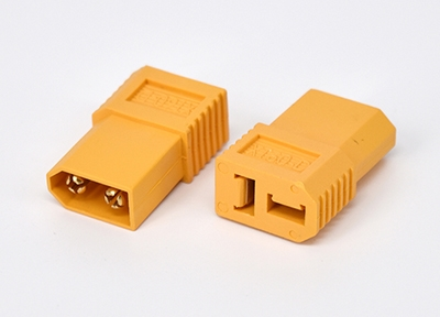 XT60 Male to T-plug Female Connector (1 stk.)