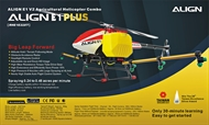 ALIGN E1 PLUS Agricultural Helicopter Combo (Two-Blade Rotor Head)