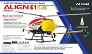 ALIGN E1 PLUS Agricultural Helicopter Combo (Tri-Blades Rotor Head)