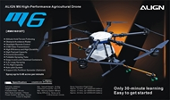 ALIGN M6 High-Performance Agricultural Drone