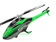 SAB Goblin 380 Carbon/Green (with 380mm Black Line Main Blades)